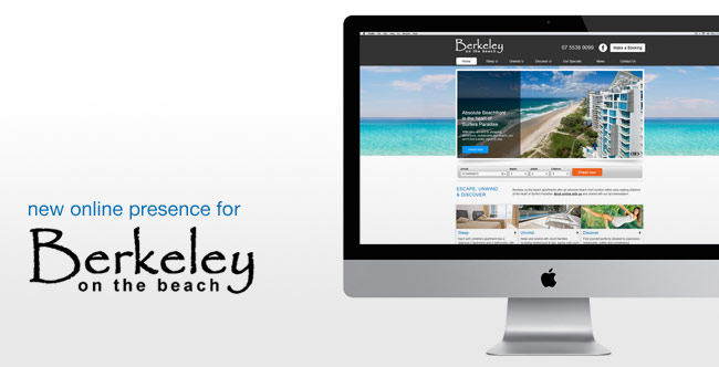 New Online Presence for Berkeley on the Beach